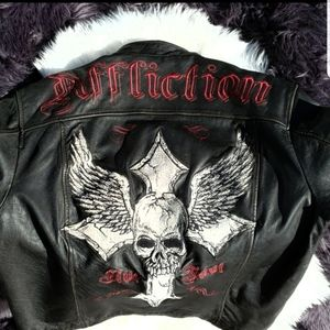 Limited Edition Affliction Leather Jacket